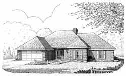 Traditional Style House Plans Plan: 58-329