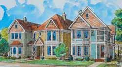 Victorian Style Home Design Plan: 58-335