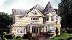 Victorian Style Floor Plans Plan: 58-347