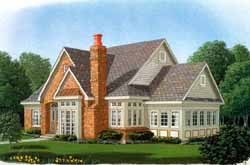 Traditional Style Home Design Plan: 58-348