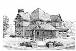 Farm Style House Plans Plan: 58-364