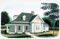 Victorian Style Floor Plans Plan: 58-366