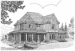Country Style House Plans Plan: 58-386