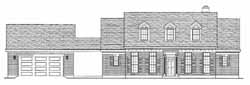 Southern-Colonial Style House Plans Plan: 58-414