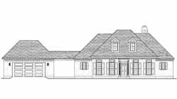 Southern Style House Plans Plan: 58-415