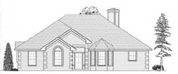 Traditional Style House Plans Plan: 59-104