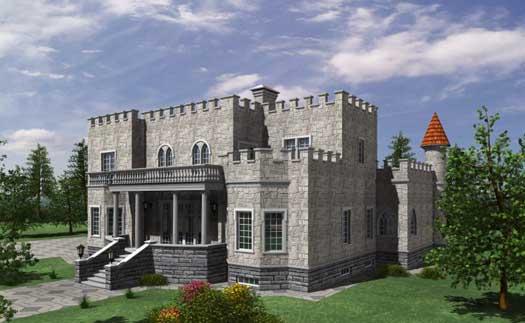 European Style Home Design