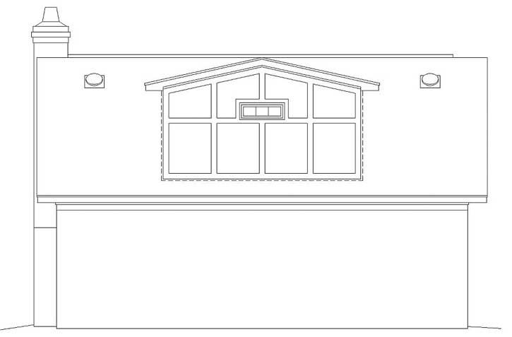 Rear Elevations Plan:6-1000
