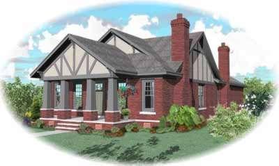 Craftsman Style Floor Plans Plan: 6-1001