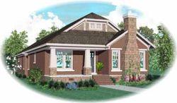 Bungalow Style House Plans Plan: 6-1004