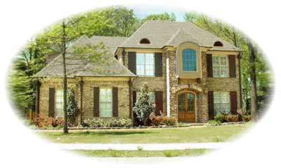 European Style House Plans Plan: 6-1011