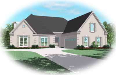 European Style Floor Plans 6-1017