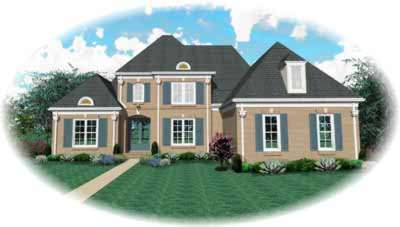 Early-american Style House Plans Plan: 6-1031