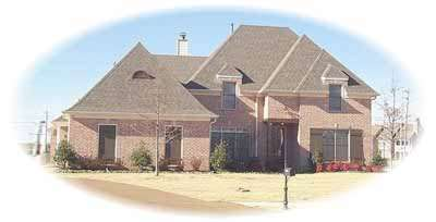 Traditional Style Home Design Plan: 6-1033
