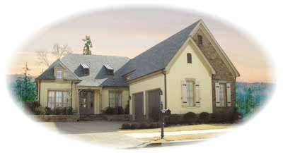 European Style House Plans Plan: 6-1062