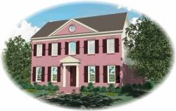 Southern-Colonial Style House Plans Plan: 6-1074