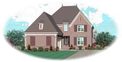 Traditional Style Floor Plans Plan: 6-1075