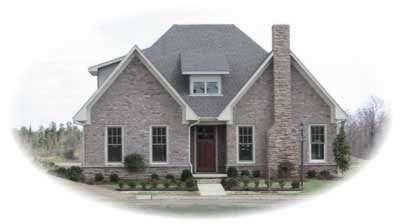 European Style House Plans Plan: 6-1109