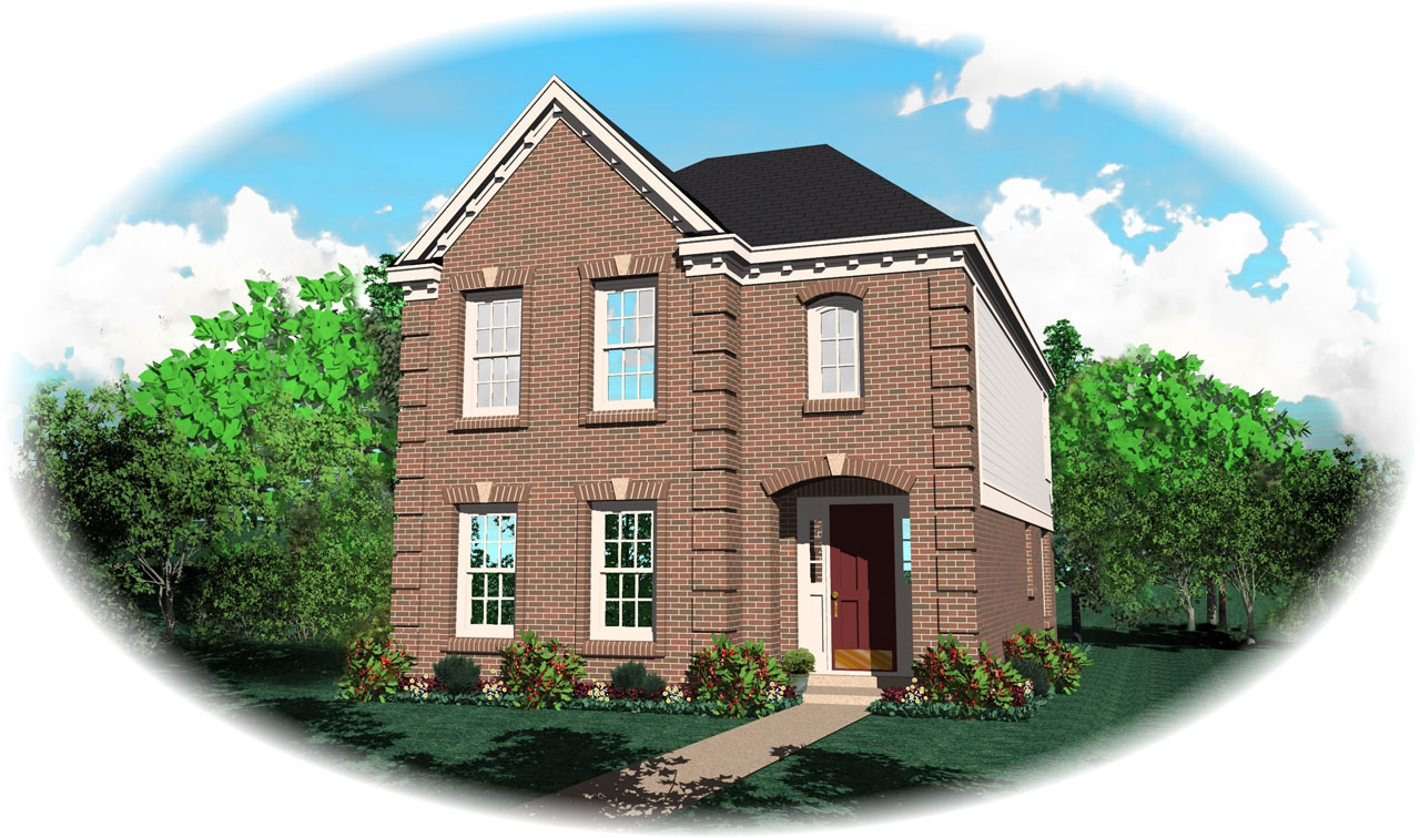 Southern Style Floor Plans Plan: 6-111