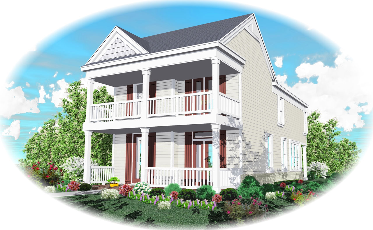 Southern Style Floor Plans Plan: 6-112