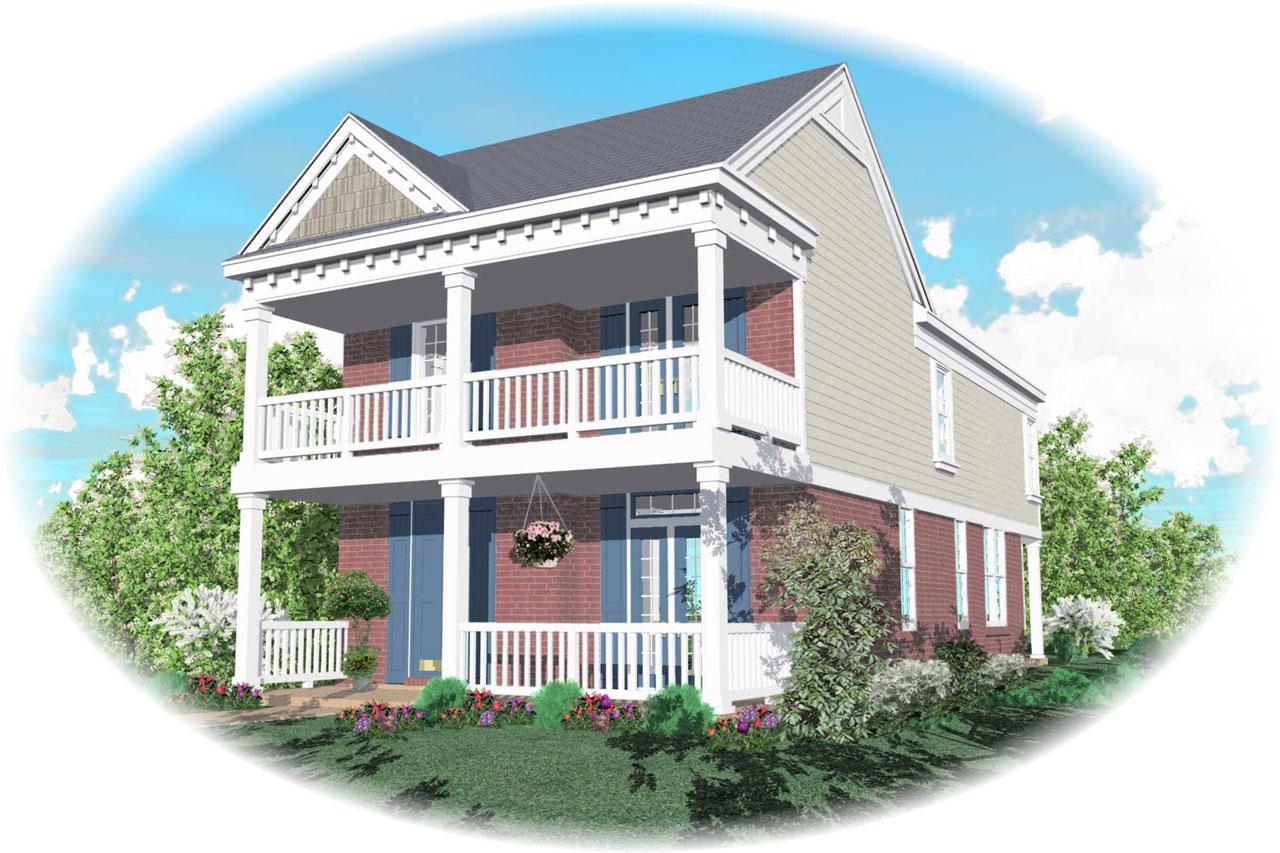 Southern Style House Plans Plan: 6-114