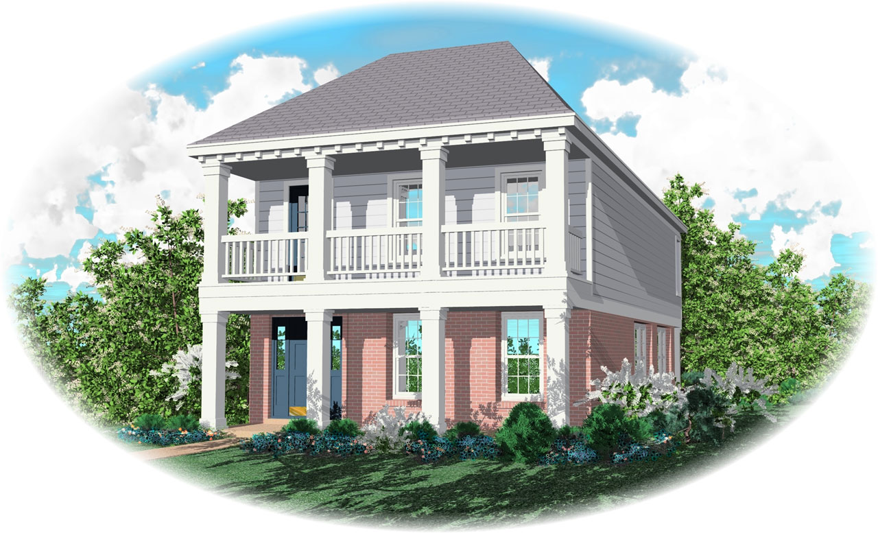 Southern Style House Plans Plan: 6-115