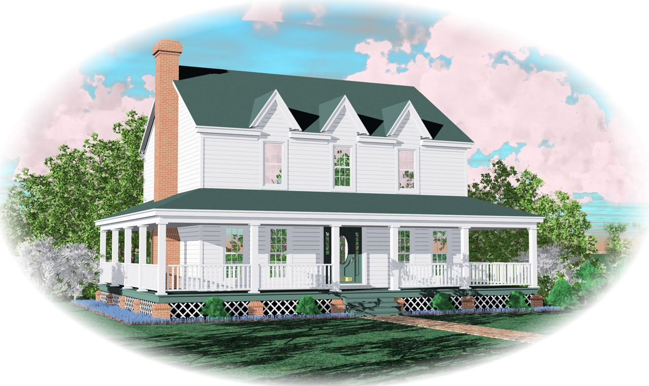 Farm Style Floor Plans Plan: 6-116