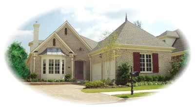 Traditional Style Home Design 6-1161
