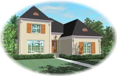 Traditional Style House Plans Plan: 6-1165