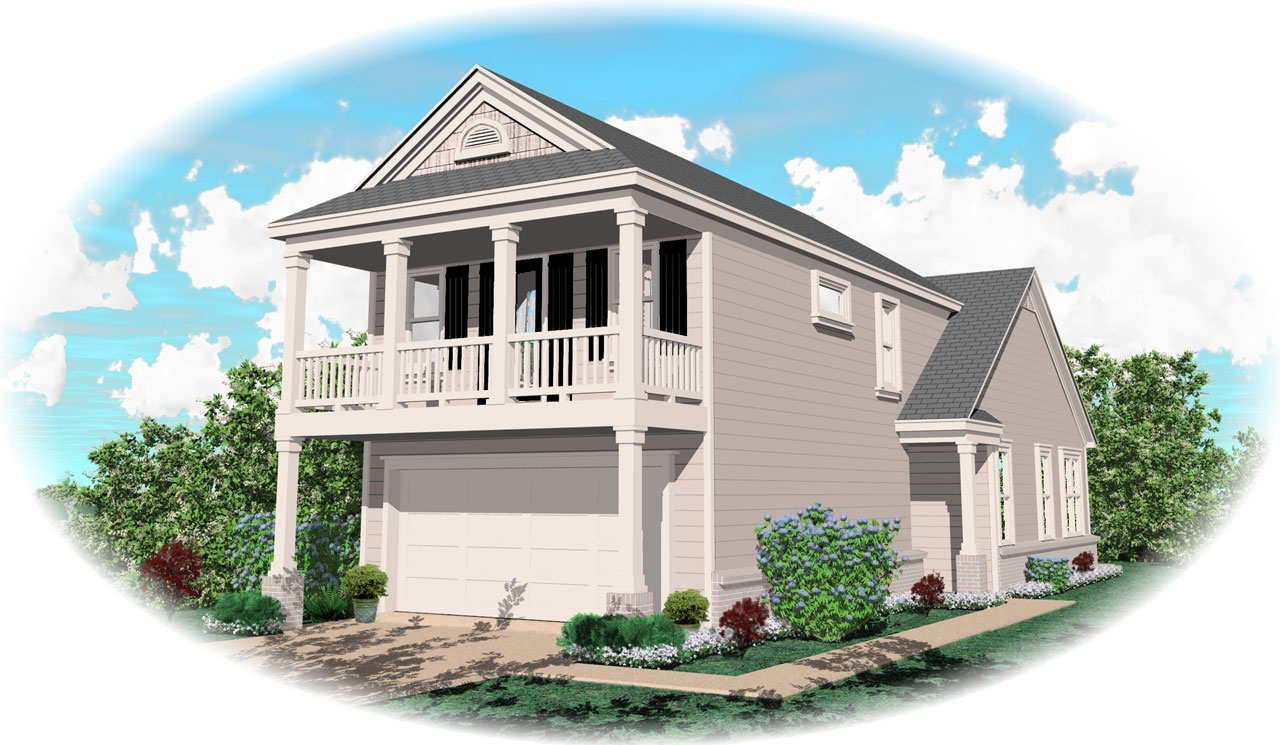 Southern Style Floor Plans Plan: 6-117
