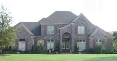 French-country Style Floor Plans 6-1177
