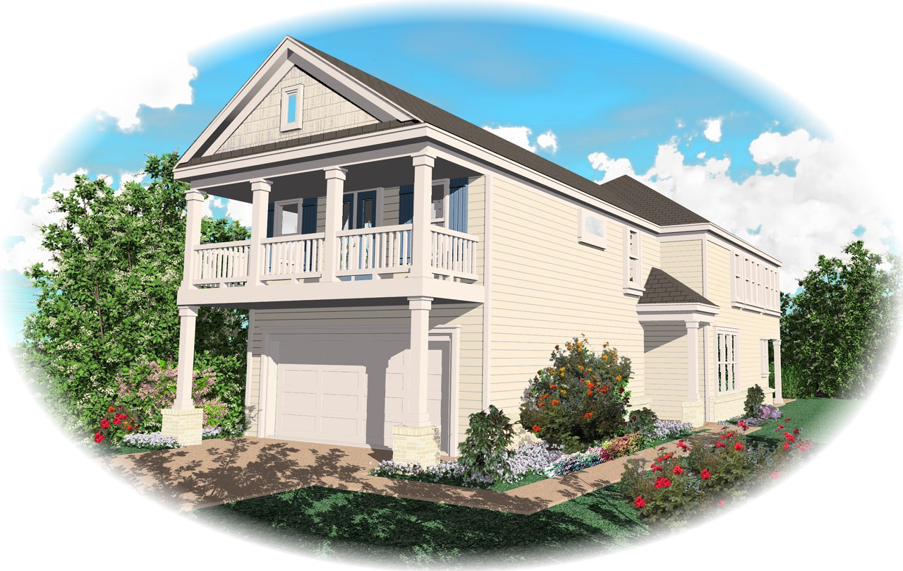 Southern Style House Plans Plan: 6-118
