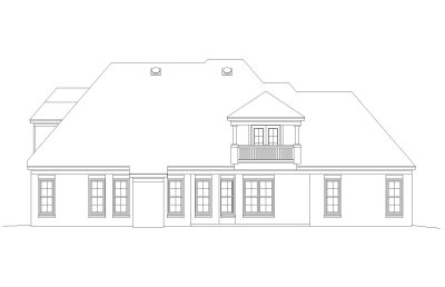 Rear Elevations Plan:6-1181