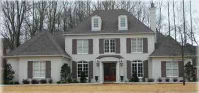 Southern-colonial Style House Plans Plan: 6-1185