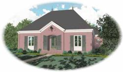 Southern Style Floor Plans Plan: 6-1204