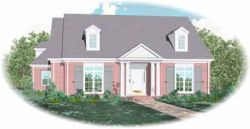 Southern Style House Plans Plan: 6-1205