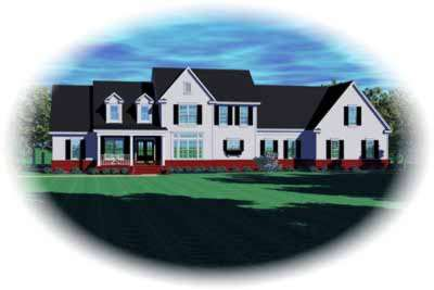 Traditional Style House Plans Plan: 6-1213