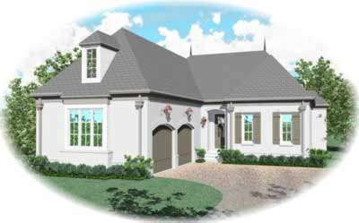 Traditional Style Floor Plans Plan: 6-1225