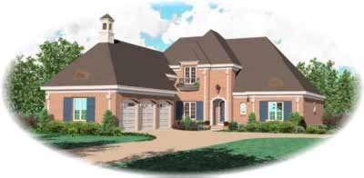 European Style Floor Plans Plan: 6-1228