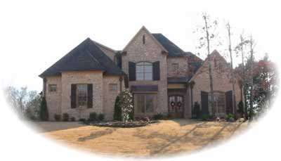 Traditional Style Home Design Plan: 6-1232