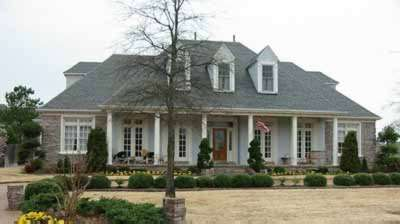 Country Style Home Design Plan: 6-1234
