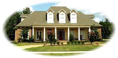 Country Style House Plans Plan: 6-1236