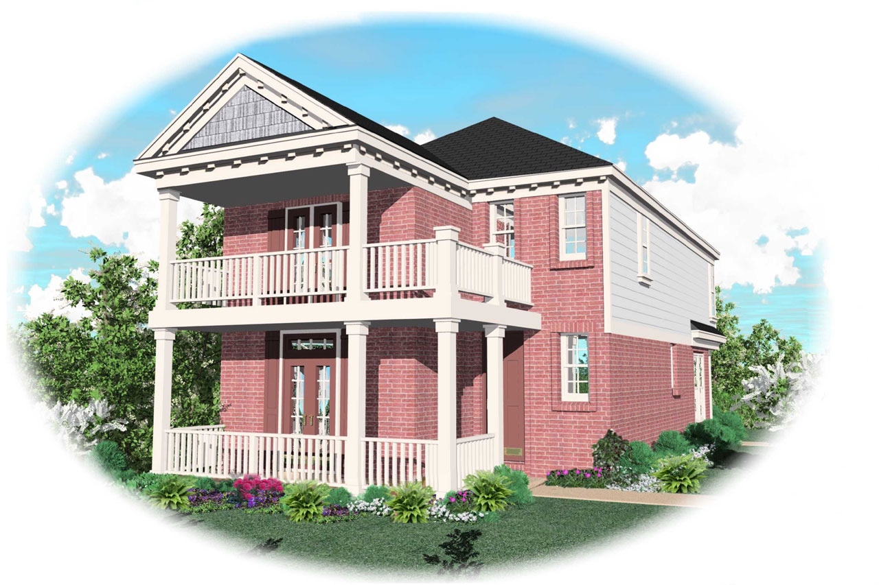 Southern Style Floor Plans Plan: 6-124