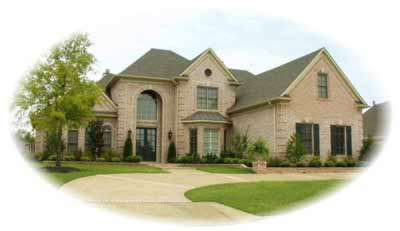 European Style House Plans Plan: 6-1242