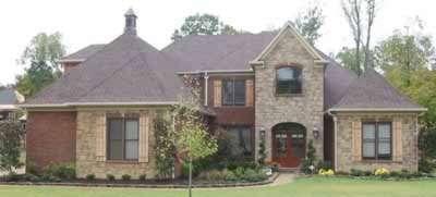 European Style House Plans Plan: 6-1243