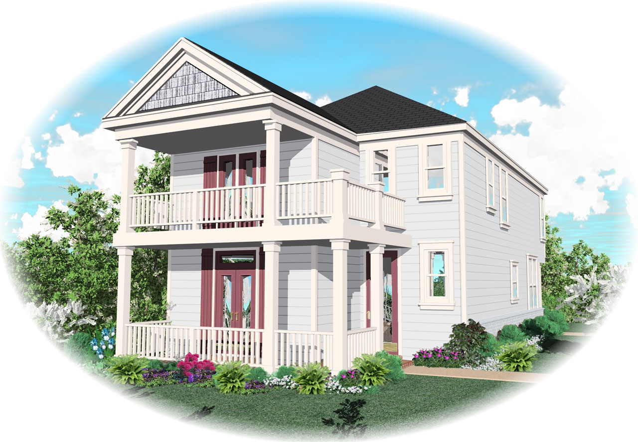Southern Style Floor Plans Plan: 6-125