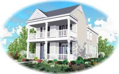 Southern Style Floor Plans Plan: 6-127