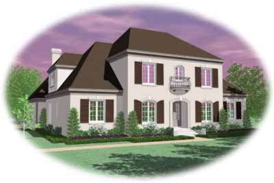 European Style Floor Plans Plan: 6-1272