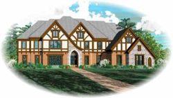 Tudor Style House Plans Plan: 6-1292