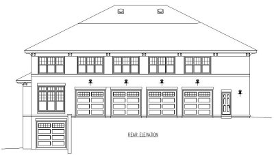 Rear Elevations Plan:6-1298
